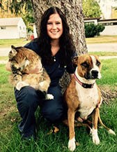 Team member Angie at All City Pet Care Veterinary Emergency Hospital
