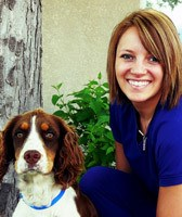 Team member Casey at All City Pet Care Veterinary Emergency Hospital