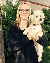 Team member Ellie at All City Pet Care Veterinary Emergency Hospital