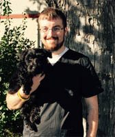 Team member Zach at All City Pet Care Veterinary Emergency Hospital