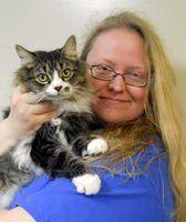 Susan Thomas at Hanover Regional Animal Hospital.
