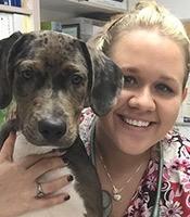 Melissa at Alachua Animal Hospital