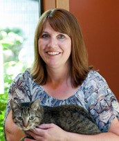 Dr. Kelly Hoover at Kitsap Veterinary Hospital