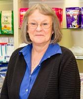 Kathy at Kitsap Veterinary Hospital.