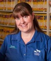Susan at Kitsap Veterinary Hospital.