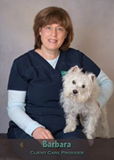 Barbara client care provider at Friendship Hospital for Animals