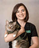 Raven client care provider at Friendship Hospital for Animals
