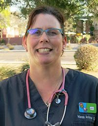 Team member Amy at Islands Animal Clinic