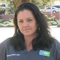 Team member Jamie at Islands Animal Clinic
