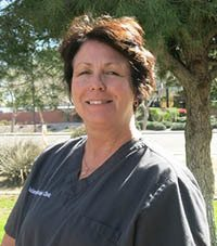 Team member Sharon at Islands Animal Clinic