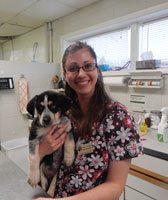 Nicole Campbell at Kruger Animal Hospital