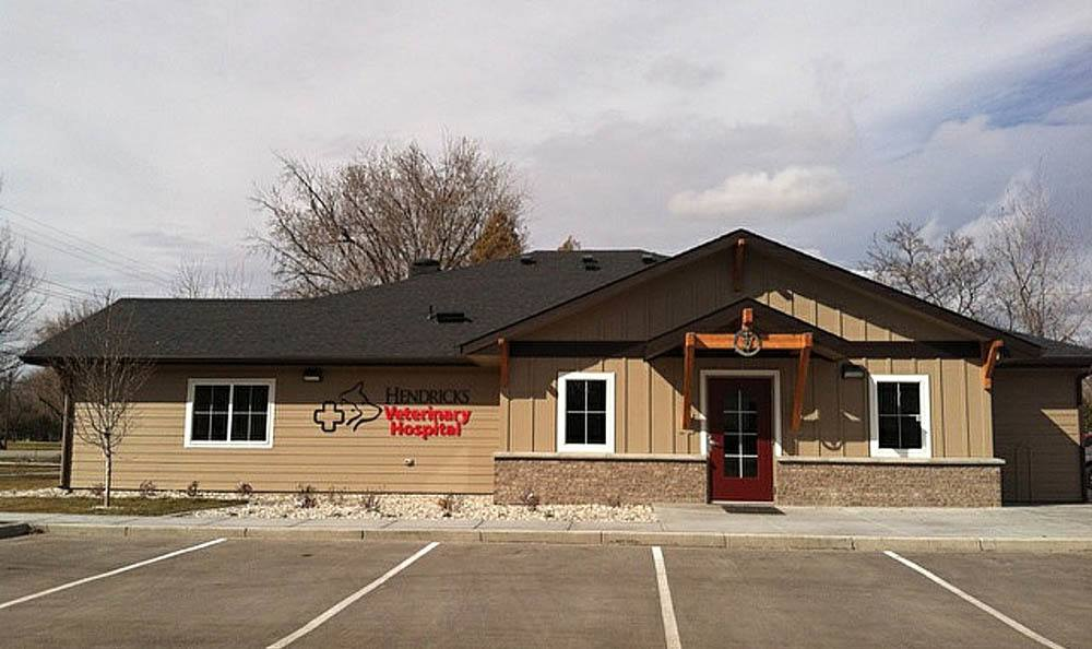 Exterior Shot At Hendricks Veterinary Hospital In Location City
