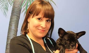 Rebecca at Buffalo Animal Hospital