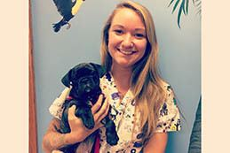 Rachel at Buffalo Animal Hospital