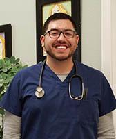 Enrique Minchaca, Veterinary Technician at Arroyo Grande Animal Hospital