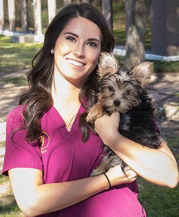 Stephanie at Travis Country Veterinary Hospital