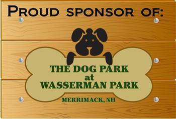 Proud sponsors at Merrimack Veterinary Hospital