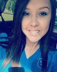 Team member Kelsee of Pawleys Veterinary Hospital