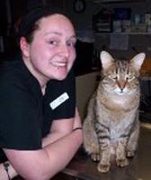 Cassy Perrine, Vet Tech at St. Paul Animal Clinic