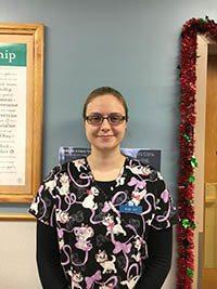 Alice at Buffalo Animal Clinic