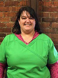 Sarah at Buffalo Animal Clinic