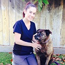 Melissa at Pleasanton Animal Hospital