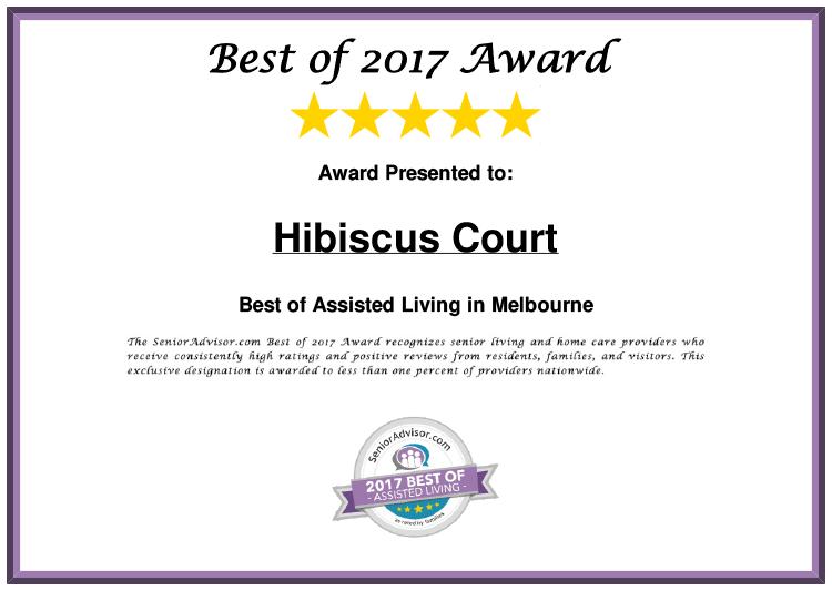 Hibiscus Court Best of 2017