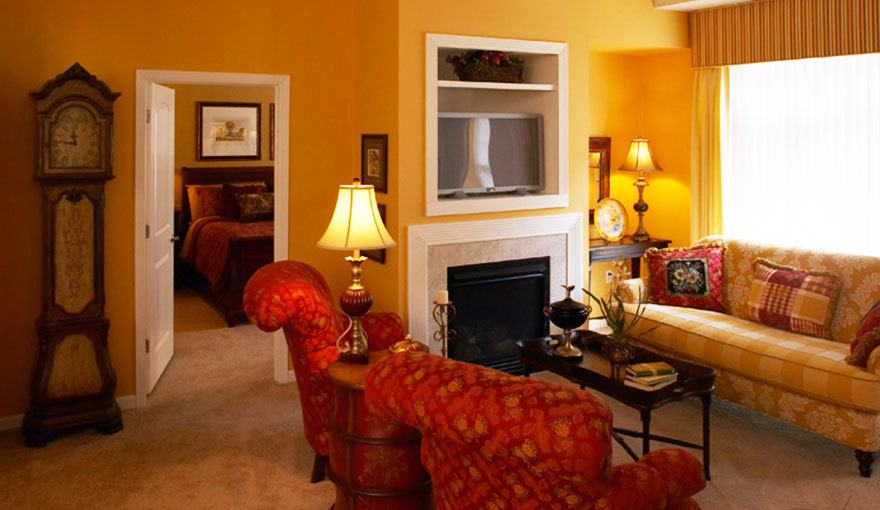 Relax and socialize in your apartment's family room at City Walk at Woodbury in Woodbury, MN.