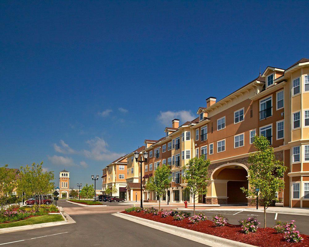 Neighborhood amenities at City Walk at Woodbury in Woodbury, Minnesota