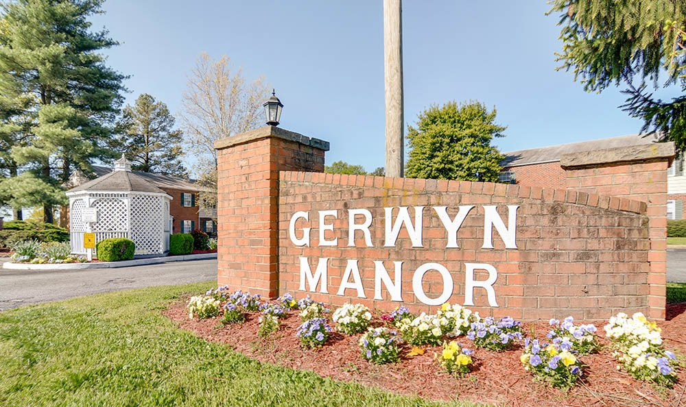 Entrance To Gerwyn Manor At Sandston In VA