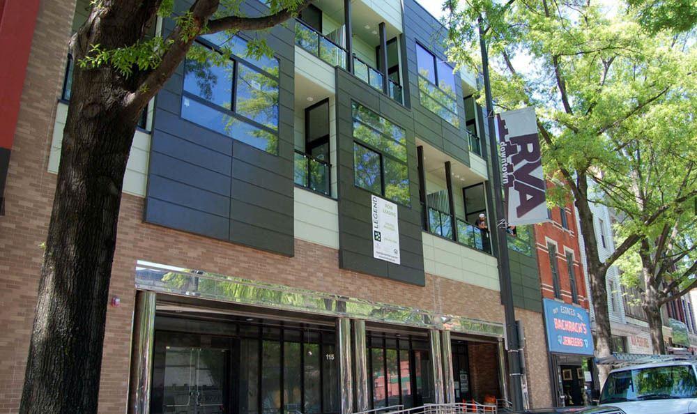 Richmond Apartments Exterior Facade