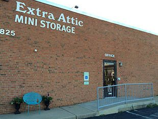 Front of facility at Extra Attic Mini Storage