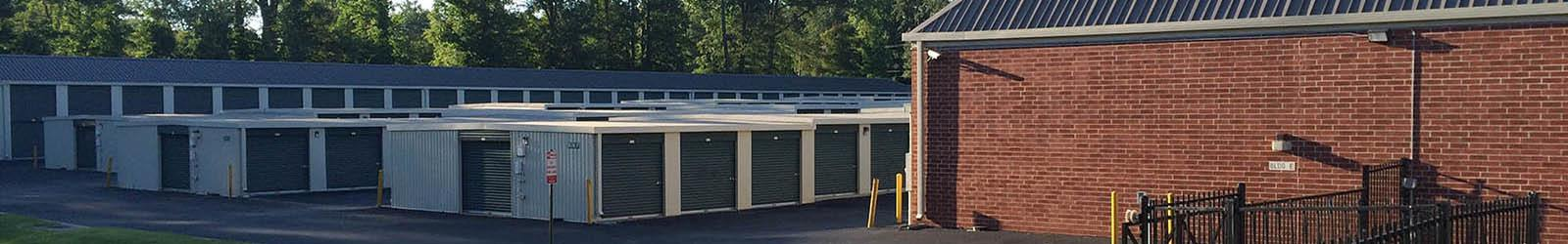 Self storage units in Richmond