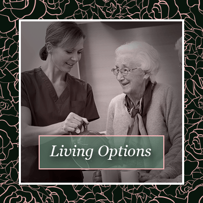 View our living options here for the senior living community in Baton Rouge
