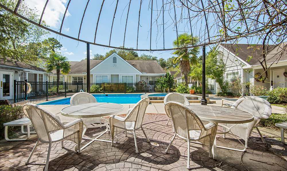 Safe Pool Area at the Senior Living community in Baton Rouge