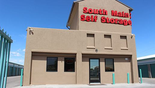 Welcome to South Main Self Storage in Las Cruces, NM