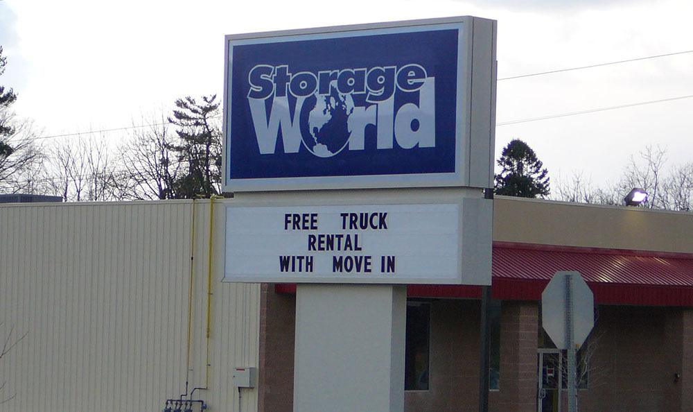 Welcome to Storage World in Womelsdorf, PA