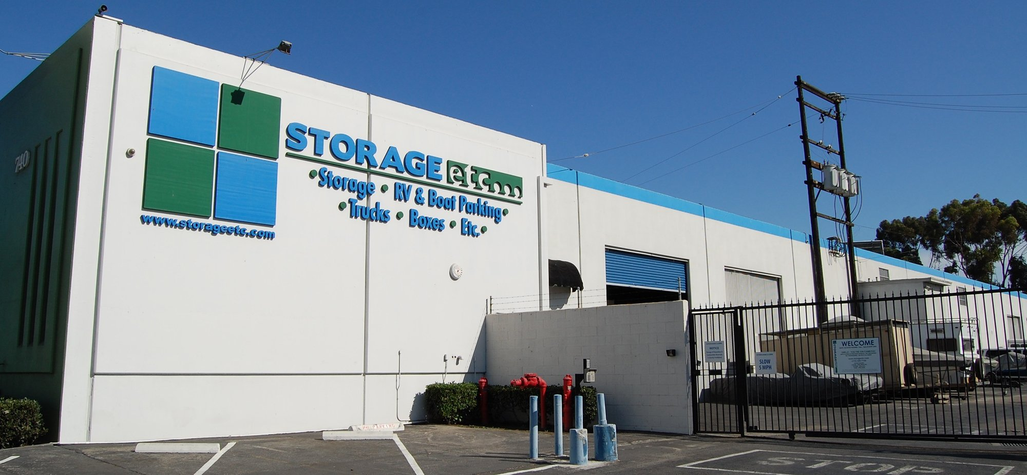 Self Storage Rental Office at Storage Etc... Gardena