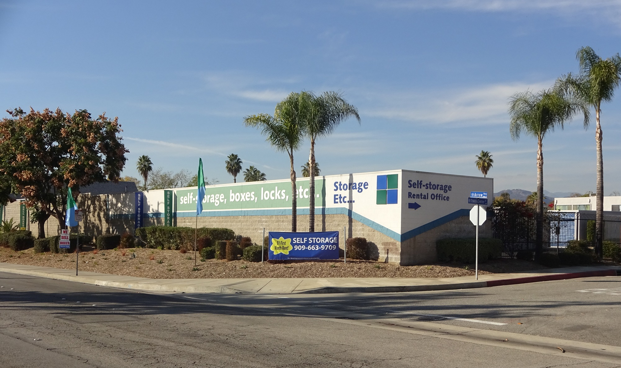 Self Storage Rental Office at Storage Etc... Pomona