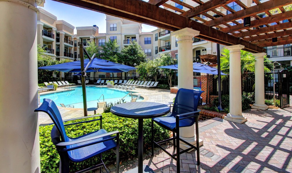 Swimming pool at Marquis Midtown District