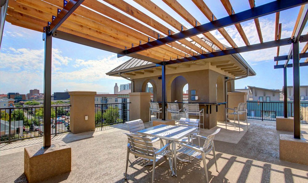 Rooftop terrace of Regents West at 26th