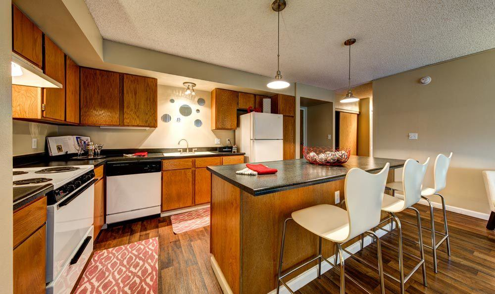 ... Model Kitchen At Marquis At The Parkway In Denver, CO ...