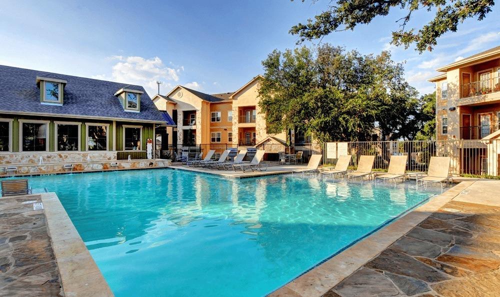 Pool at The Vista in San Antonio, TX