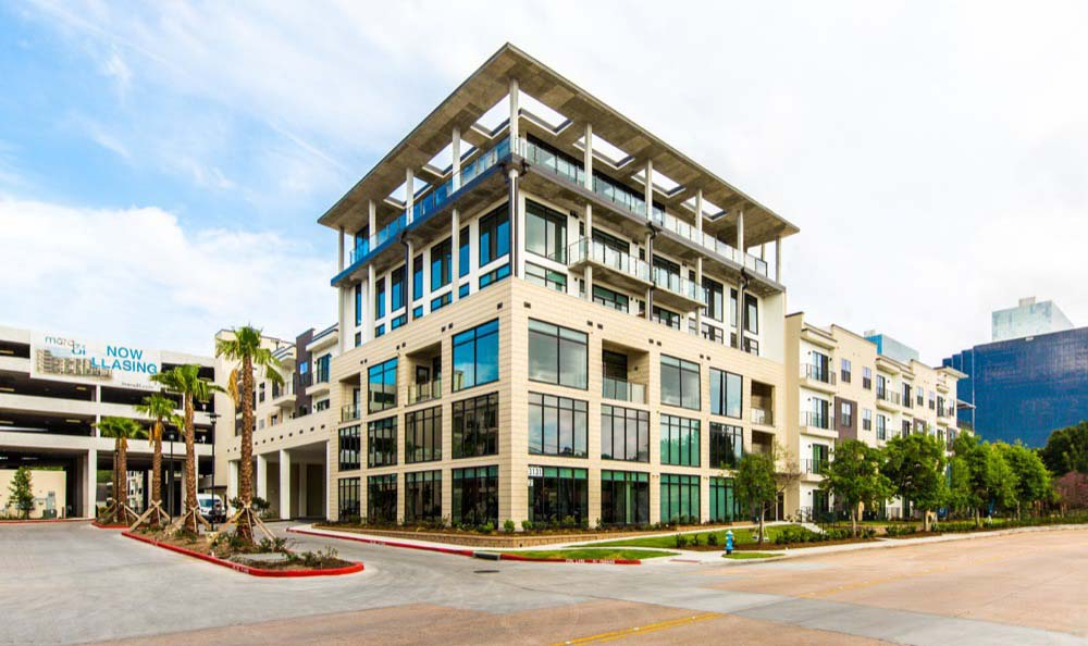 Building Exterior at Marq 31 in Houston, TX
