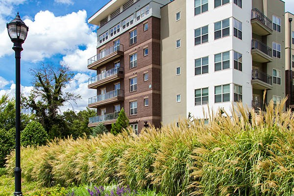 Apartment exterior in Atlanta