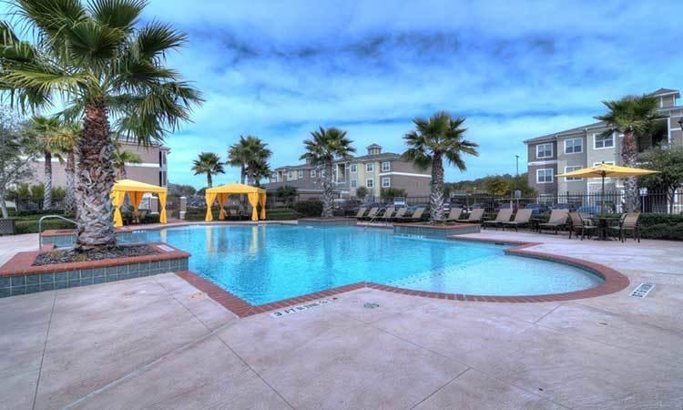 Pool view in Marquis at The RIM, San Antonio