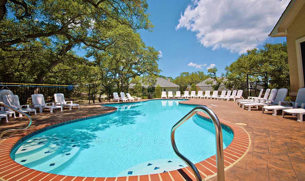 Swimming pool at Marquis at TPC