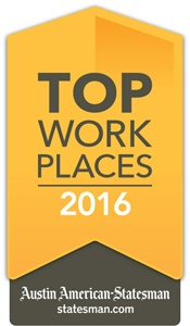2016 Top Places to Work Award