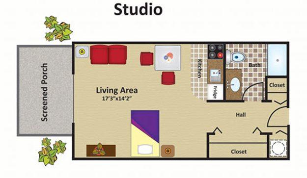 Senior Living Floor Plans | Grand Villa of Delray West