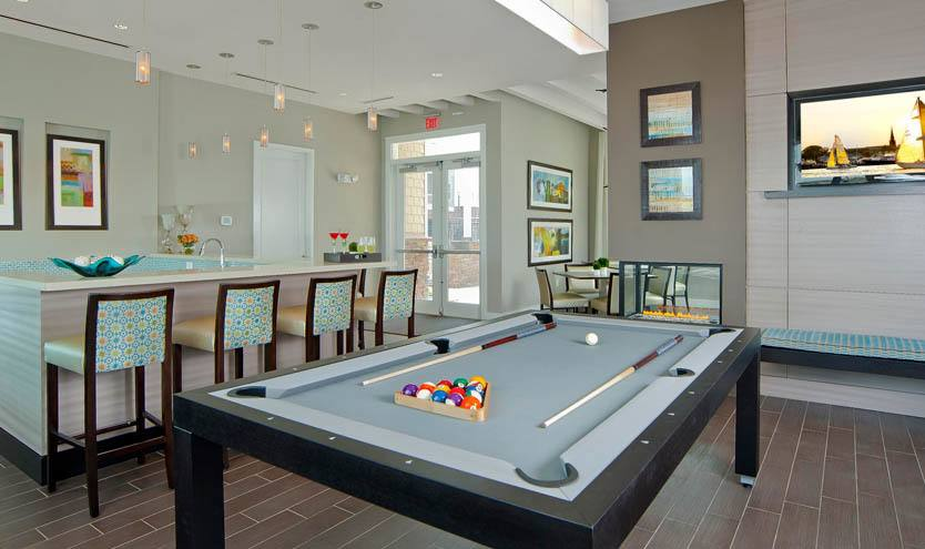 Enjoy a game of billiards at The Morgan in Chesapeake, VA
